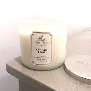 Bath and Body Works Vanilla Bean 3 Wick Candle